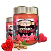 A jar of 'Love' with the taste of Red Roses
