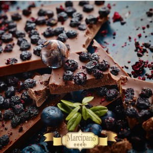 Milk Chocolate with Bilberries 150 grams